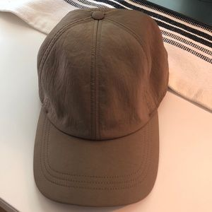 Olive green lululemon hat